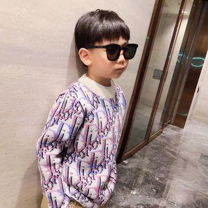 Frete grátis outono Meninos meninas camisola topos de Natal Menino moda inverno pulôver camisola de malha bebê camisola
