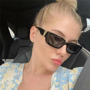Fashion High quality Men and women Sunglasses UV Protection Outdoor Sport Vintage Women Sunglasses Retro Eyewear With box
