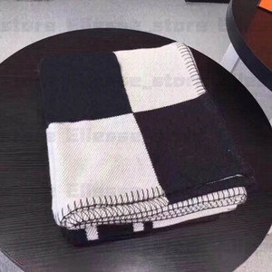 Top Quality Letter Thicken Cashmere Wool Blanket H Home Travel Winter Scarf Shawl Warm Everyday Throw Blankets Nap Sofa Towel Tapestry ES167