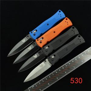 BENCHMADE BM 530 « PARDUE léger couteau pliant axe camping en plein air outil EDC 781 535 550 940 551 318 417 484 485 couteau papillon