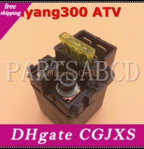 Partsabcd Buyang 300cc Atv D300 G300 Quad solenoide Relay Atv Parts