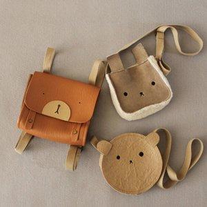 EnkeliBB малышей Прекрасная сумка животных Cute Bear Кролик Медведь Crossbody сумка Baby Girl Дети все Аксессуары