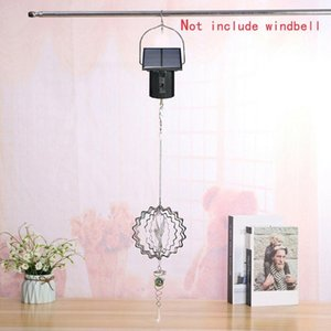 Solarmotor Spinner Motor Home Wind Chimes Automatische Solar Wind Spinner Hang Metall Großes Electric Tool # T2G