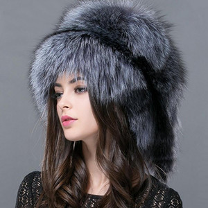 FXFURS Autumn and winter 2020 New Women 's Genuine raccoon dog russian fur hat real fur hat dome mongolian FXH-161013