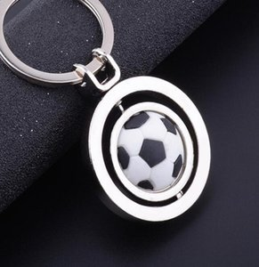 Basketball Gifts Rotating Pendant Key Chain Golf Cup Key Football Chain World Soccer Keychain Pendant footballshoe OyIOK