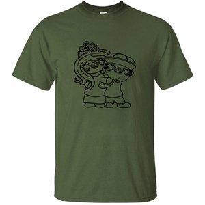 Été drôle Couple amour dans l'amour Couple Team Party Dj T-shirt pour les hommes de base solides hommes T-shirts manches courtes T-shirt