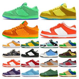 sb dunk low Yeşil Mavi Fury Erik Lazer Turuncu açık moda spor eğitmenleri womens koşu ayakkabıları spor ayakkabıları mens