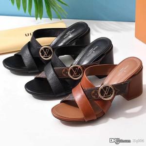 Tacchi alti di HORIZON MULE progettista di lusso Scarpe 1A5BZO donne calde delle nuove donne l'alto calza Piazza Mules Tan Vitello Cognac Brow