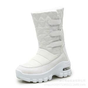 COWCOM 2020 de neige d'hiver Bottes femme isolé coton rembourré Chaussures Casual Chaussures non-Slip imperméable Bottes femmes-2056 LST