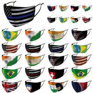 Abdeckung Baumwolle Flaggen Kingdom Tuch Masken Packaged Länder Nose Individuell Vereinigte Grooth Australien Arab Discount Brfdm