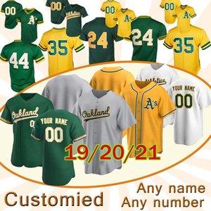 20 21 Oakland Jersey 26 Matt Chapman Khris Davis Marcus Semien Taner Roark Ramon Laureano İsa Luzardo Jurickson Profar Çad beyzbol