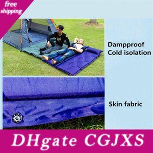 Seif -Inflatable acampar al aire libre de la comida campestre inflables automáticos dormir de la estera colchón de la estera a prueba de humedad de la playa con la almohadilla
