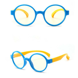Kids Anti-blue Light Glasses Anti-UV Radiation Protection Computer Goggles Flexible Frame Eyeglasses Girl Boy Gafas Para NiñOs