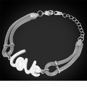 Women's Four Leaf Clover Charm Bracelet for Her Stainless Steel Gold Plated Mesh Chain Delicate Heart Bracelet