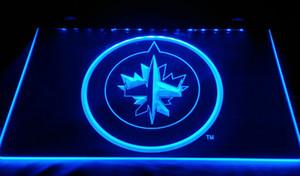 LS332-B-Winnipeg-jes-neon-ışık işareti dekor ücretsiz kargo dropshipping toptan 8 renk seçmek için