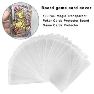 100pcs trasparente gioco di magia carte Protector Poker Carte Protector Consiglio per MTG Tcg Scheda Protezioni Per Tarocchi Gioco Carte yxlmTZ jjxh