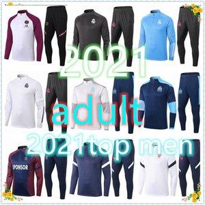(21 Men adult training suit psg jordan nike equipe de france real madrid barcelone paris 2020 2021 survetement foot Survêtement de football soccer tracksuit
