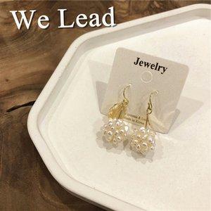 Hot Sale Wedding Bride Classic Style Stud Fashion Pearl Women Vintage Earrings Design Personality Ladies Alloy Earrings Fashion Jewelry