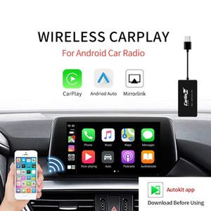 Android Navigasyon Oyuncu Mini USB Carplay Mirrorlink için Araç Kablosuz Carplay Android Auto Akıllı Bağlantı CarPlay Dongle
