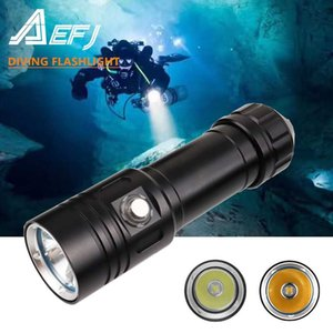 Super bright Diving L2 LED IPX8 highest waterproof rating Professional diving light Powered by 18650 or 26650 battery