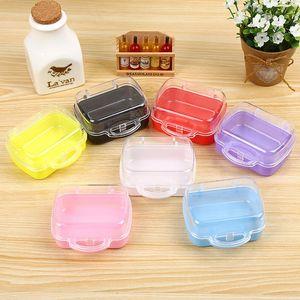 5 Renk Kılıf Çanta Stil Hediye Kutusu Packaging Bagaj Küresi Plastik Nikah Şekeri Kutuları Takı WB2509