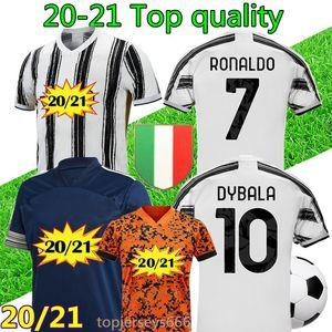 20 21 maillot de foot Juventus Hommes 2020 2021 maillots de football RONALDO DYBALA DE LIGT maillot de football soccer jersey shirt