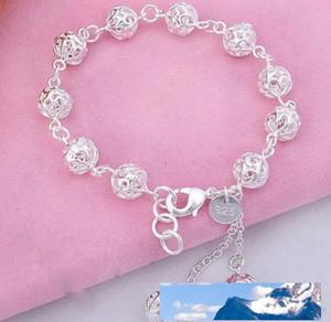 925 sterling silver bracelet, 925 sterling silver fashion jewelry Ball Bracelet  antajfaa ezdanqka best gfit cc789