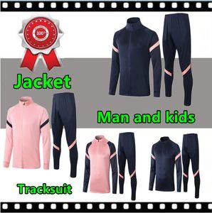 2020 2021 man and kids soccer jacket training suit 20 21 Long sleeve tracksuit football spurs jacket jogging chandal futbol
