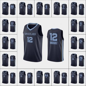 MemphisGrizzliesHombres Brandon Clarke Ja Morant Jaren Dillon Brooks Jonas ValančiūnasNBA Armada Icono Jersey personalizada