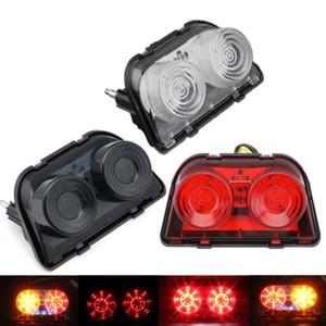 Motosiklet LED Entegre Arka Lambası Dönüş Sinyalleri Fren Işık İçin İçin HONDA CBR250 MC19 MC22 CBR400 NC23 NC29 MC18 MC21 MC28