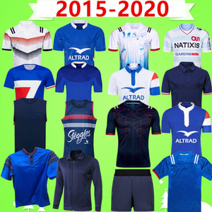 2015 2020 France Rugby League Jersey Nine System Pull Shorts Hero Vintage Souveniir Edition Vest Enfants Ensemble T-shirt Veste d'entraînement
