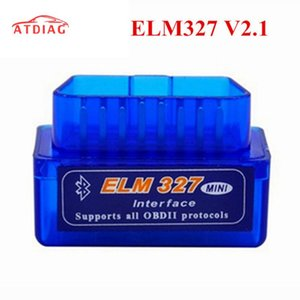 Super Mini ELM327 Bluetooth V2.1 ELM 327 OBD2 Working on Android Torque PC Support All OBD2 Protocols With Multi-Languages