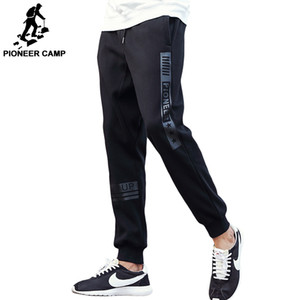 Pioneer Camp thick fleece pants men top quality autumn winter warm male sweatpants brand clothing joggers pants for men 200925