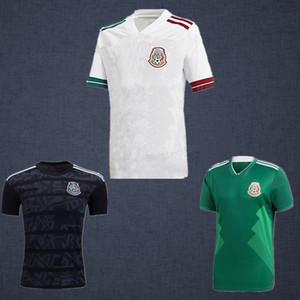 19 20 Messico H.lozano Dos Santos Camicia da calcio H. Herrera 2019 2020 Chicharito Gold Cup Adult Man Sports A. Guardado Jersey di calcio