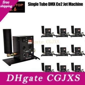 Fábrica 10xlot al por mayor de cañón Co2 Jet | DMX 512 conmutable | Efectos especiales | Niebla, construido en el soporte de montaje Co2 Cryo Jet Tp -T27