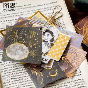 Scrapbooking album Diary Papeterie Paquet de rêve décoratif Midsummer Journal Stickers pack Label Stickers Nights Memory Stick JFFDI