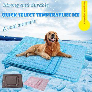 Cane Mat Estate Cooling Pad Urina Pet Mat riutilizzabile pannolino Bed Pad Multifuntional ammortizzatore impermeabile materassini Pet Accessori DHE1425