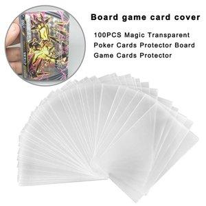 Scheda Da Per 100pcs Cartellini Carte Mtg Gioco Protector Gioco Carte Magia Protector Protezioni Tarocchi Poker Tcg trasparente qrYsy mywjqq