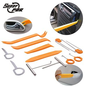 Super PDR 12pcs Car Stereo Installation Kits Paintless Dent Removal Tool Kit Car Radio Tool Radio Panel Door Clip Panel Trim