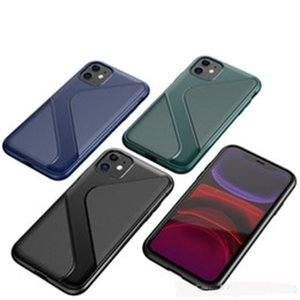 Alta qualità TPU S caso del modello per iPhone 6 7 8 x 11 Serie Tre colori Samsung Galaxy S11 S11 + S11e Huawei MATE 30 MATE 30PRO copertura della pelle