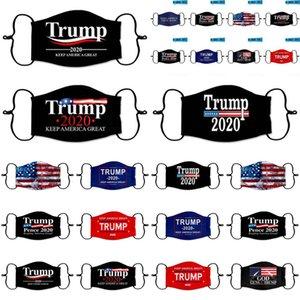 Maschere mascherine di protezione Elezione Trump viso presidenziale Confezionato siamo Gum Mask autonomamente Fashion Designer Brwfg