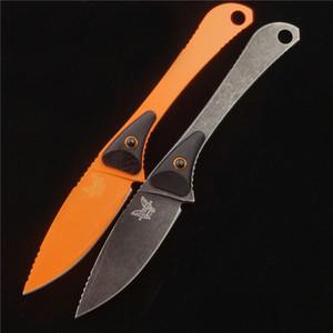 BENCHMADE ОГО 15200 фиксированного лезвия небольших прямой нож открытых охоты кемпинга ДХЭ~D инструмент 133 140 535 940 3551 4400 3350 3300 С81 ножа бабочки