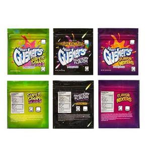 2020 Yeni Galaktik Meyve Gushers Egzotik Mylar Çanta İlaçlı Meyve Gushers 500 mg Yemekleri Ambalaj İmvüze Kokusu Kokusu Toz Geçirmez Çanta Errlli