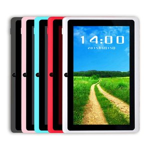 Q88 7 Inch Android 4.4 Tablet with keyboard case PC ALLwinner A33 Quade Core Dual Camera 8GB 512MB Capacitive Cheap Tablets