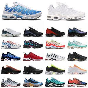 TN Plus olímpica running shoes para homens mulheres preto branco exército verde moda ao ar livre moda esporte mens shoes sneaker chaussure femme