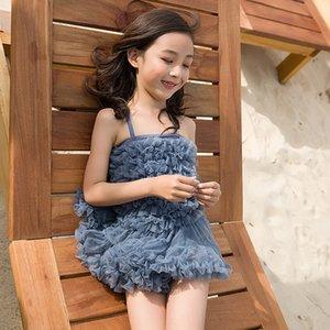 Yeni peri etek kızlar büyük ve küçük çocuklar Koreli Sıcak dantel kıvırma Prenses kaplıca sıcak zCvaH mayo mayo