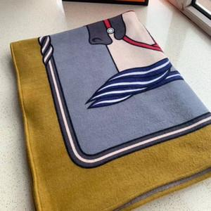 2020 NEU !! Beste Quailty NEUER Entwurf Wolle und Kaschmir H Decke Soft-Have Schlagwörter Decke für Betten Sofa Karostoff Klimaanlage Reisen