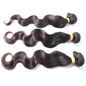 Atacado cutícula Alinhados Grade 10A Raw indiano virgem do cabelo Raw onda do corpo humano Pacotes Hair Extensions Vendor cabelo