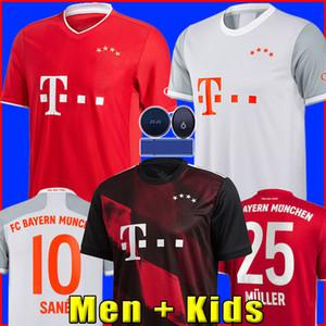 Bayern Munich Jersey de fútbol soccer jersey football shirt SANE 2021 2020 LEWANDOWSKI MULLER 21 20 Camiseta chandal de fútbol 120 aniversario 120 años