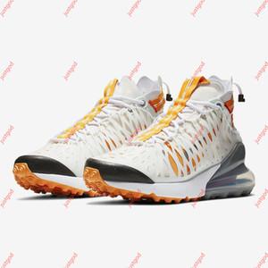 Nike Air Max 270 antracita ISPA SP SOE de los hombres de los zapatos corrientes Terra naranja Cojín Fantasma Blanco para hombre de las zapatillas de deporte 36-45 Deportes